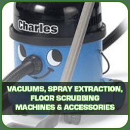Vacuums, Spray Extraction, Floor Scrubbing Machines & Accessories